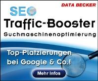 Data Becker SEO Traffic Booster™ - Die Software für Einsteiger.