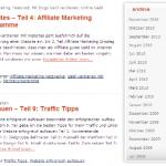 Altes Theme von Weblog-ABC