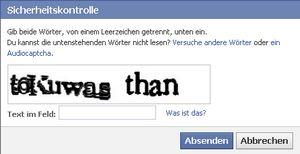 Facebook Seite erstellen: Sicherheitskontrolle